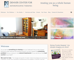 Denver Therapies: Holistic Therapy WordPress Site
