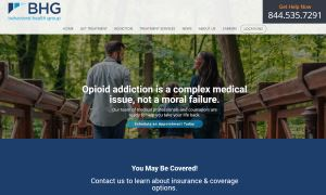 Behavioral Health Group: Custom WordPress Multisite Redesign
