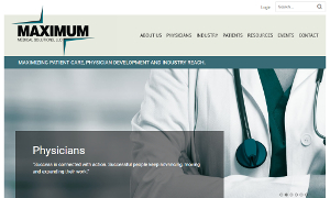 Medical Industry Responsive WordPress Site