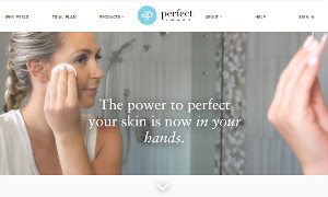 Magento 2 Skincare Products Site with Interactive Chat